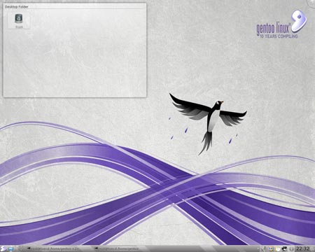 Gentoo 10.1 Desktop Screenshot