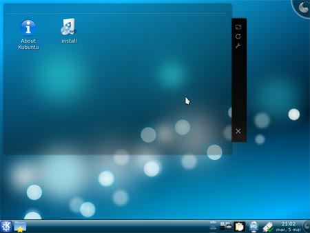 Kubuntu 9.04 Desktop Screenshot