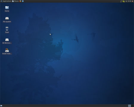 Xubuntu 9.10 Desktop Screenshot
